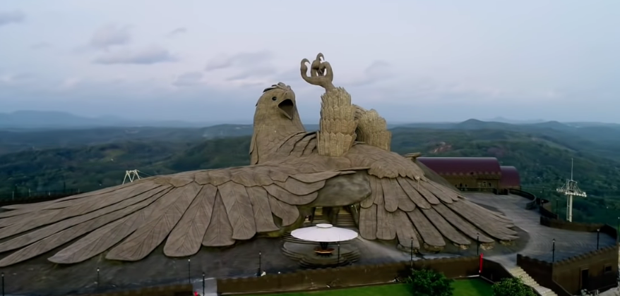 Jatayu Bird Biggest Statue in the World India