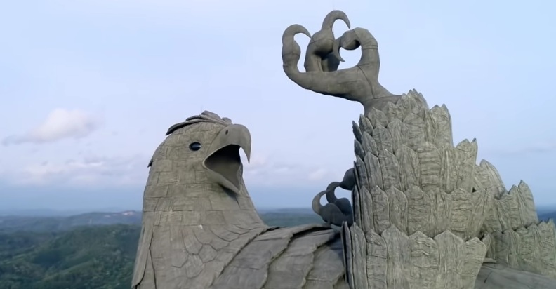 Jatayu Earth Center Best Statue of India