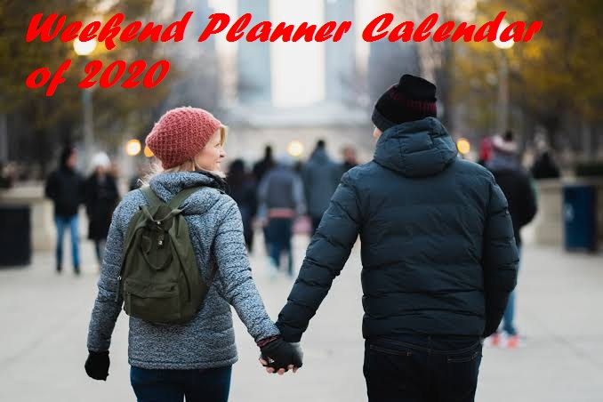 Enjoy the long Weekend of New Year 2020 holiday calendar