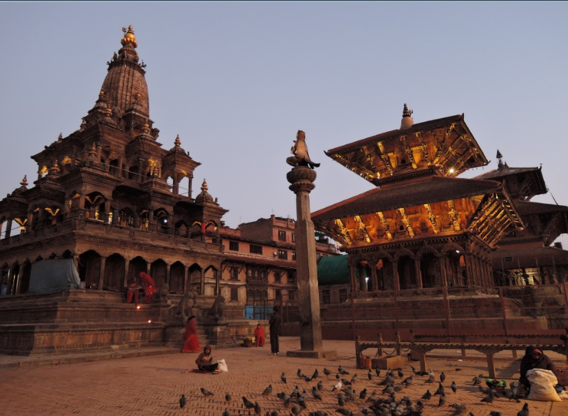 Patan Durban Square temple in Nepal