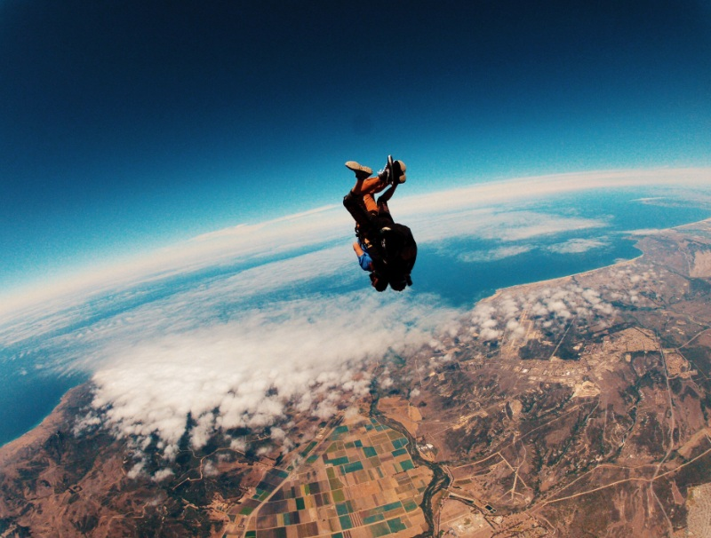 Tandem Jump Skydiving in india