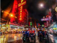 Visiting Thailand in Night Bangkok