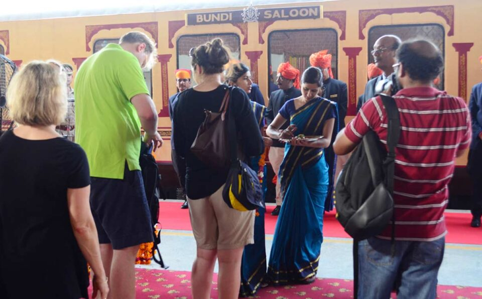 Royal Luxury Train Palace on Wheels